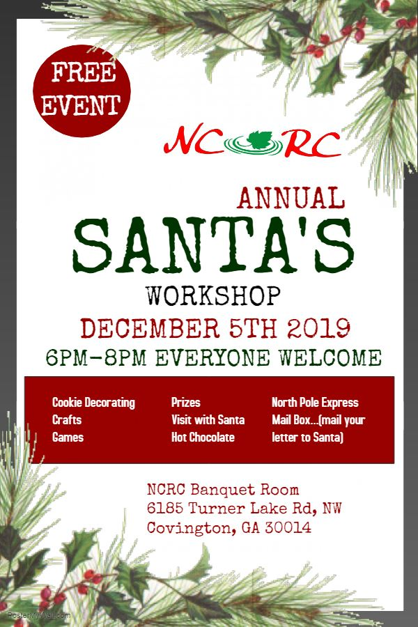 2019 Annual Santa's Workshop