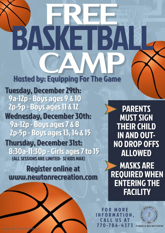 Winter Basketball Camp 2020